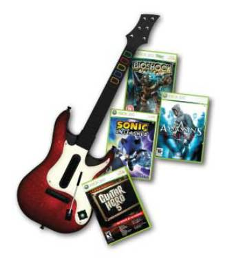 xbox 360 guitar 5 bundle at brighthouseon easy payments