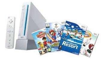 Nintendo Wii console Bundle at BrightHouse