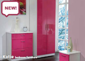 KATIE BEDROOM FURNITURE AT BrightHouse on weekly payments