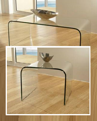 glass side table glass lamp table at brighthouse furniture