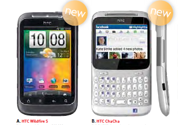 HTC smart phones at BrightHouse on easy credit