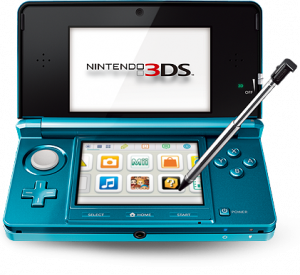 nintendo 3DS aqua blue at brighthouse on easy credit