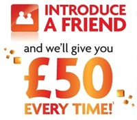 Get £50 every time when you introduce a friend to BrightHouse