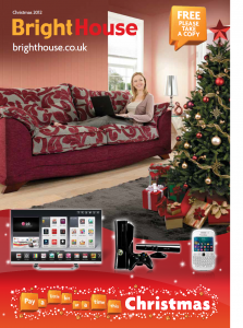 BrightHouse Christmas Catalogue 2012