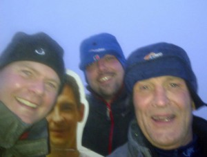 Ben Nevis - Andy Kev Chris and Stuart