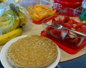 Pancake Day - Fruits and Pancake - for blog