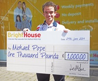 BrightHouse Sponsors Paralympic Hopeful Michael Pope