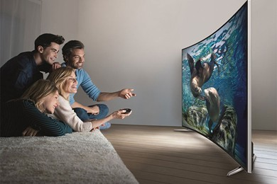 samsung 55 curved tv review