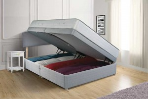 Memory Supreme Ottoman Bed - Full Side Opening