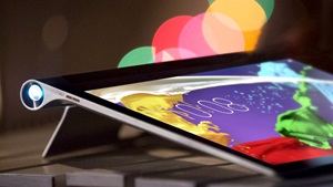 Lenovo Yoga 2 Tablet: World's First Tablet Projector