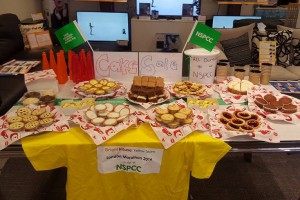 London Marathon Cake Sale