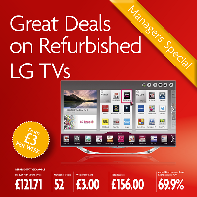 June's Great Deals on Refurbished LG TVs and more!