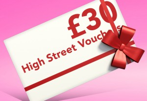 Father's Day Giveaway Prize - High Street Vouchers