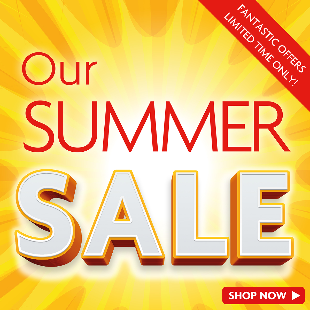 Our Unmissable Summer Sale Is Now On