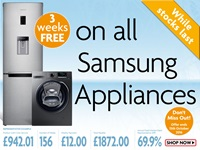 Limited time offer: Get 3 weeks free on a Samsung kitchen appliance