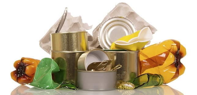 recycling at home - kitchen waste