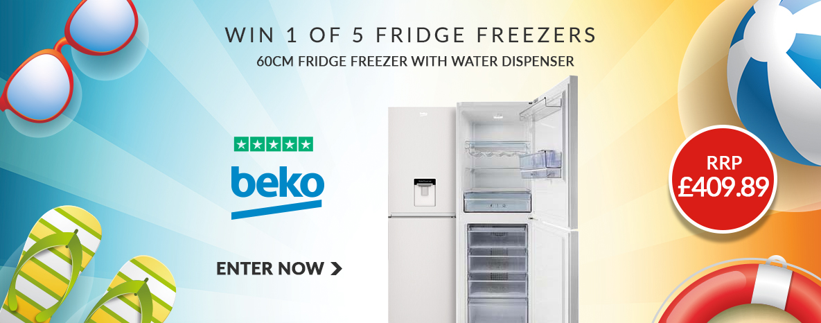Win a new fridge freezer