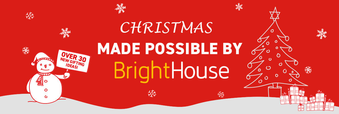 Christmas made possible by BrightHouse