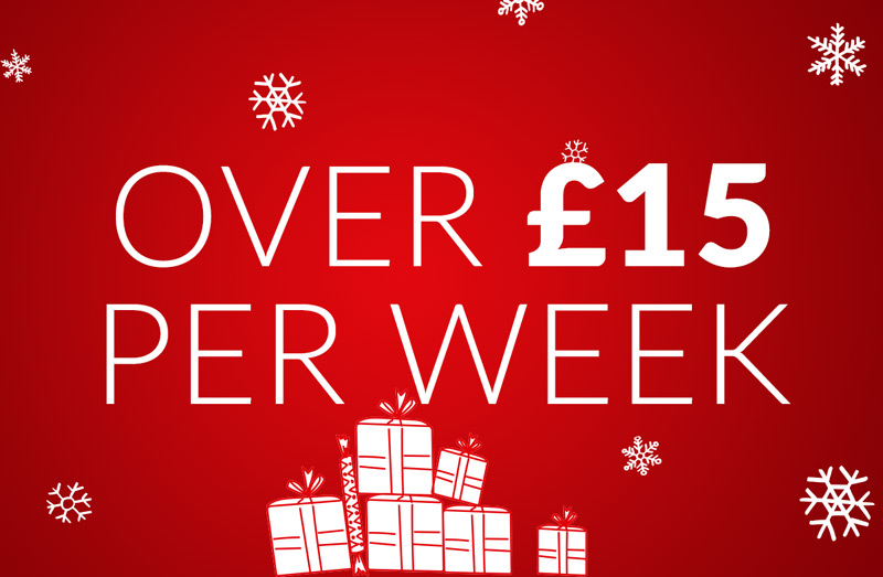 Presents Over £15 per week