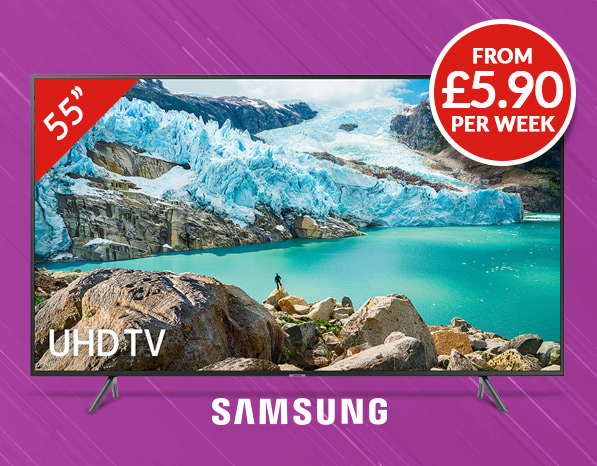 Samsung 55inch from £5.90 per week