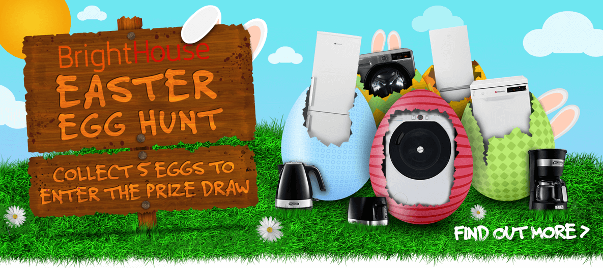 BrightHouse Easter Egg Hunt, Collect the eggs to enter the prize draw, find uot more