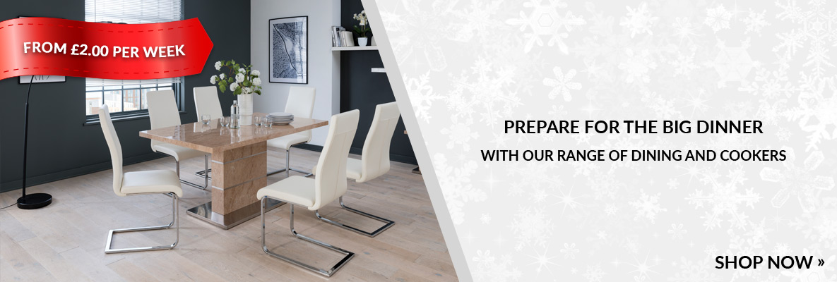 christmas dining sets and cookers