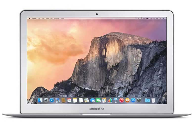 "apple 13.3"" 128 gb macbook air - silver - computing - laptops - mpmacair (main)"