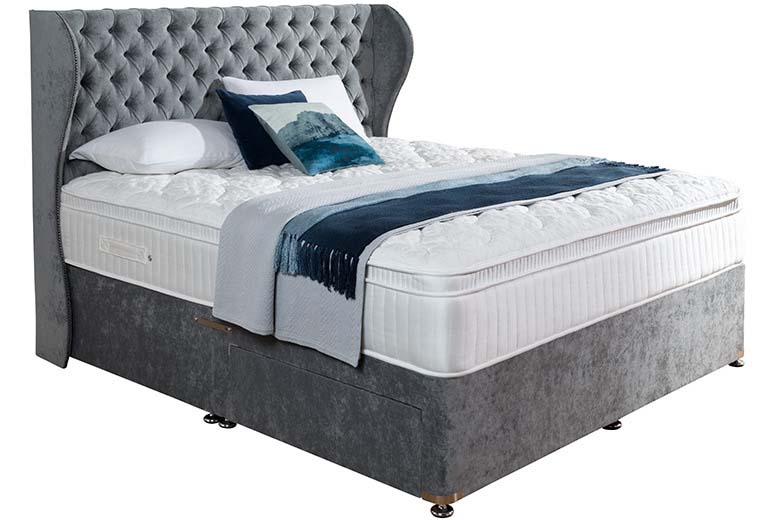 biarritz 6 39 2 drawer divan bed brighthouse