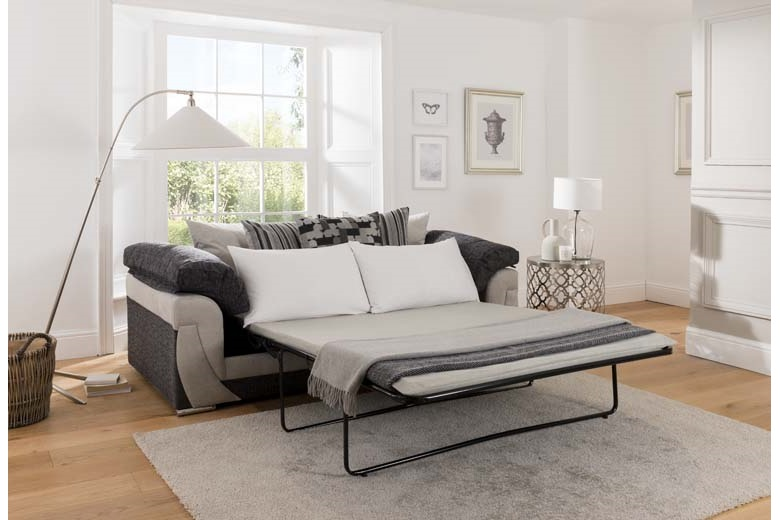 Hannah 3 Seater Sofa Bed Brighthouse