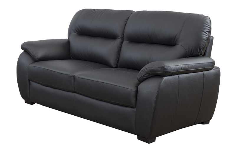Calgary leather sofa